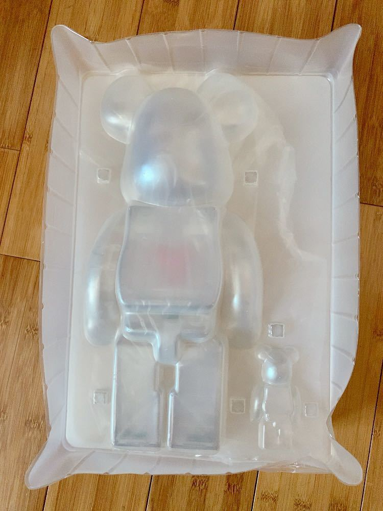 ベアブリック BE@RBRICK EMOTIONALLY UNAVAILABLE 400% のみ_画像2