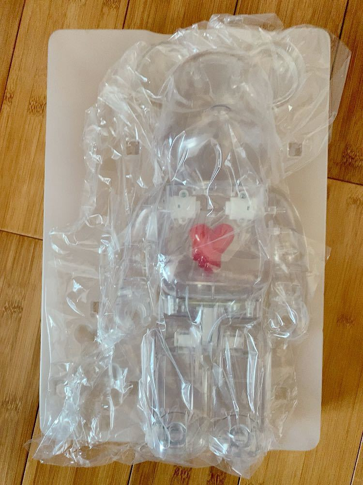 ベアブリック BE@RBRICK EMOTIONALLY UNAVAILABLE 400% のみ_画像1