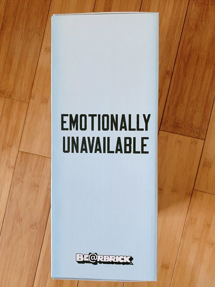 ベアブリック BE@RBRICK EMOTIONALLY UNAVAILABLE 400% のみ_画像6