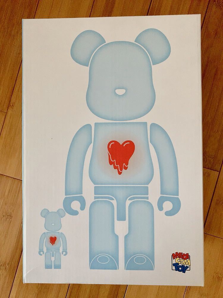 ベアブリック BE@RBRICK EMOTIONALLY UNAVAILABLE 400% のみ_画像3