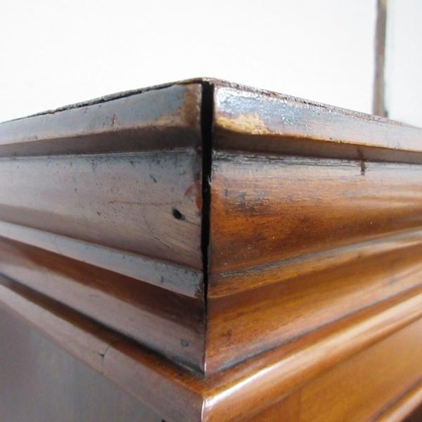 イギリス アンティーク 家具 ブックケース 本棚 飾り棚 収納 猫脚 木製 マホガニー 英国 BOOKCASE 6591b_画像7