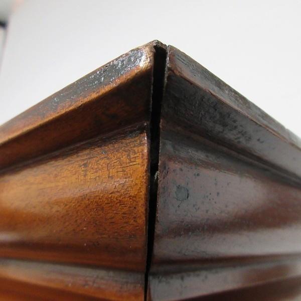 イギリス アンティーク 家具 ブックケース 本棚 飾り棚 収納 猫脚 木製 マホガニー 英国 BOOKCASE 6591b_画像10