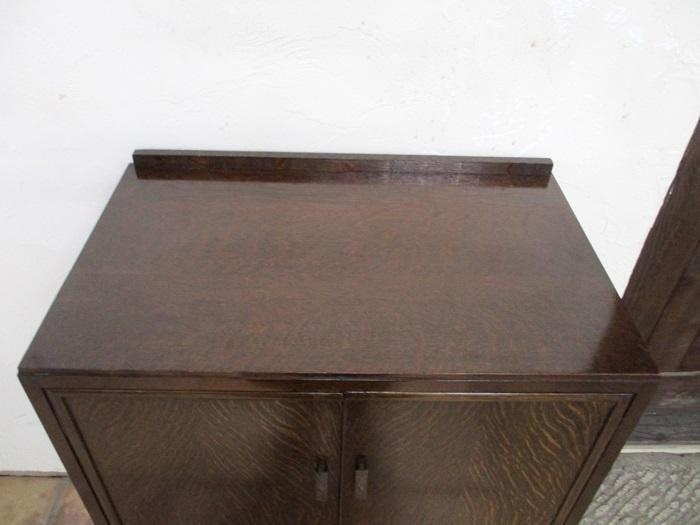 イギリス アンティーク 家具 セール トールボーイ チェスト クローゼット 木製 オーク材 店舗什器 収納家具 英国 ROBE 6543a 特価_画像3