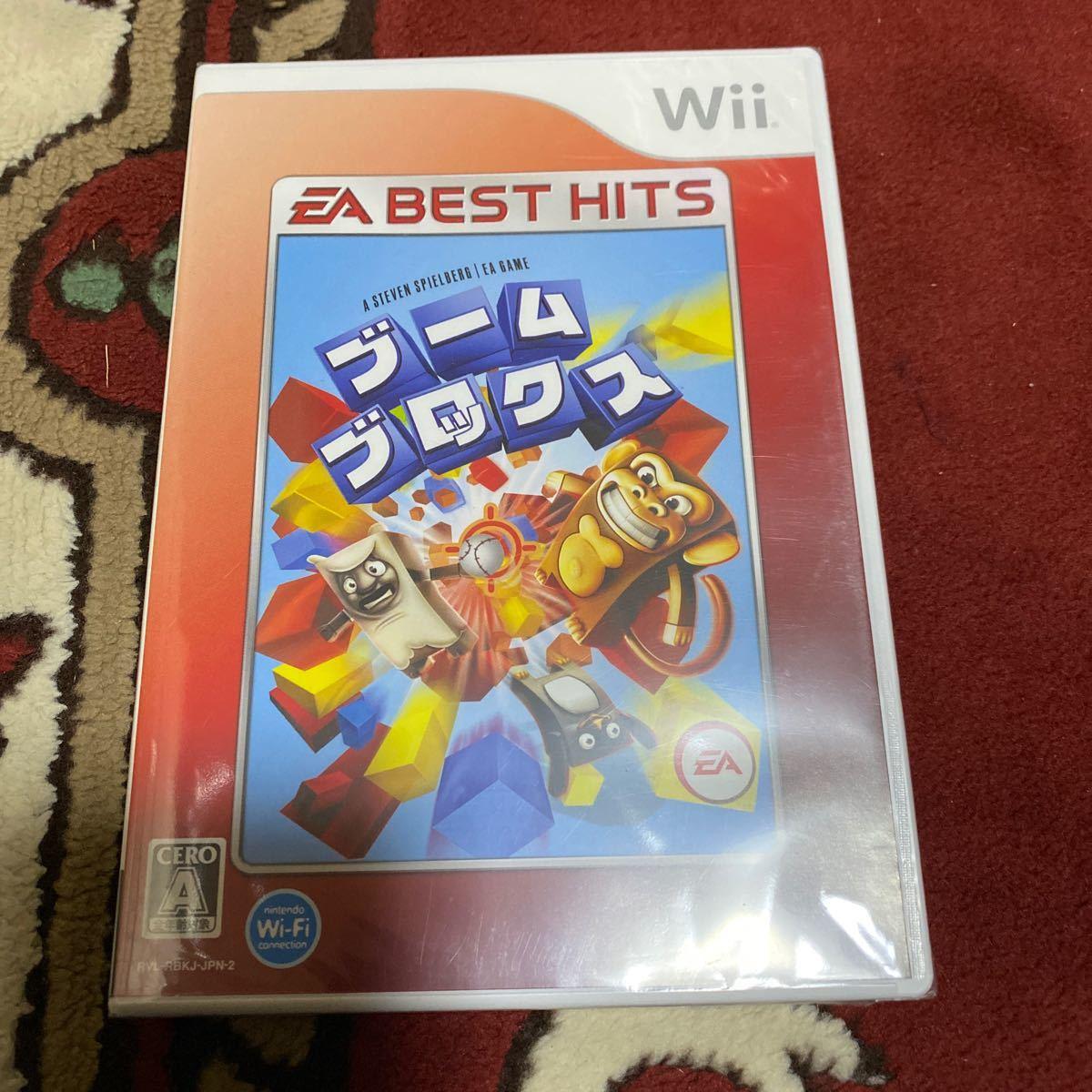 【Wii】 ブーム ブロックス [EA BEST HITS]新品未開封品