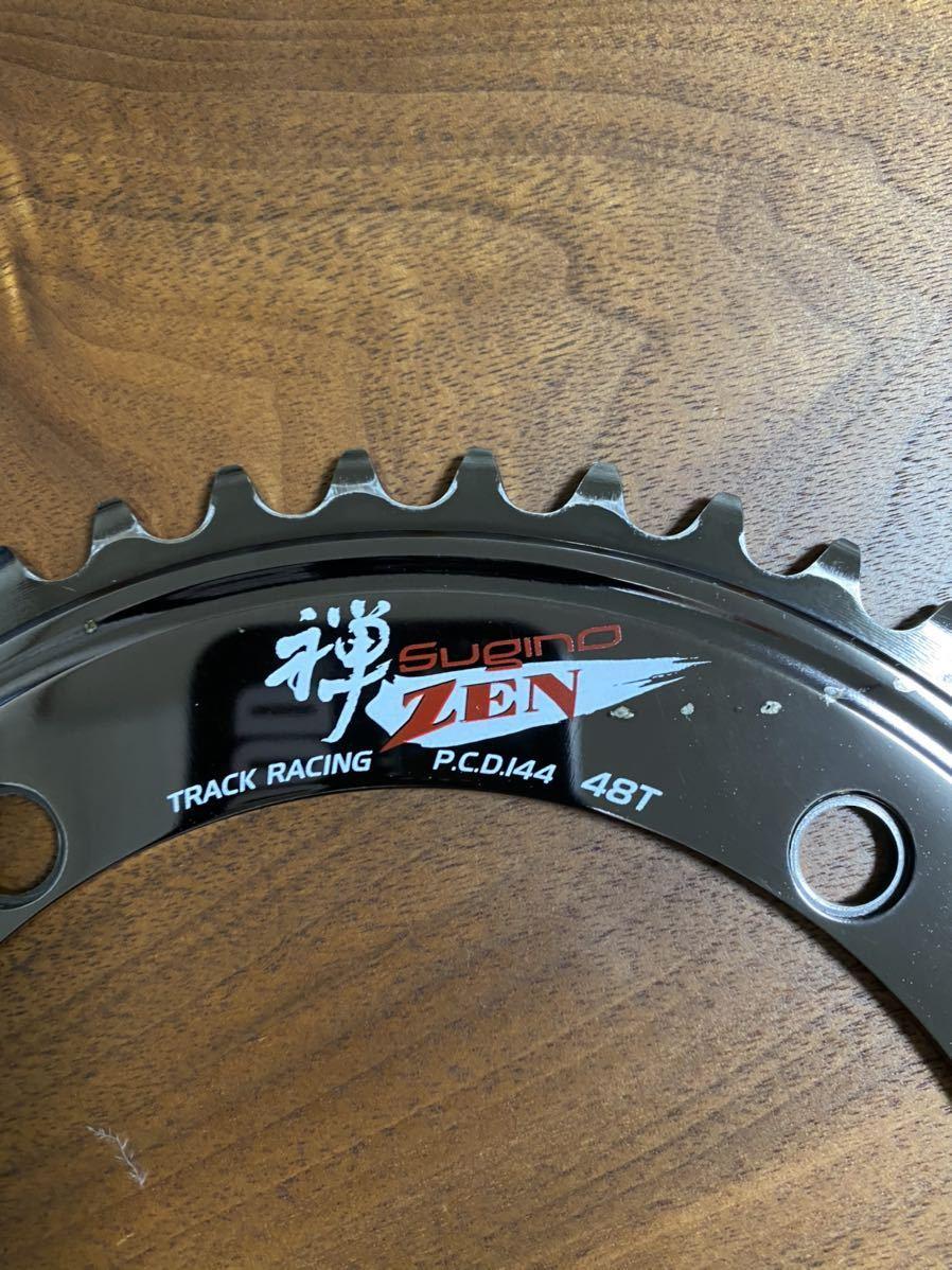 スギノ スーパー 禅 48T SUGINO super ZEN トラック ピスト 競輪 LEADER BIKE Cinelli MASH リーダー バイク チネリ dosnoventa_画像2