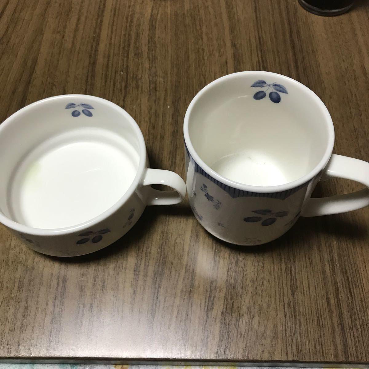 スープカップとマグカップ