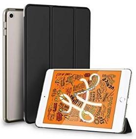 SE-7値下げ iPad mini 5 ケース 軽量 薄型 PU レザー スマート カバー 三つ折スタンド オートスリープ 機能付き 全面保護 傷つけ防止クリア_画像1