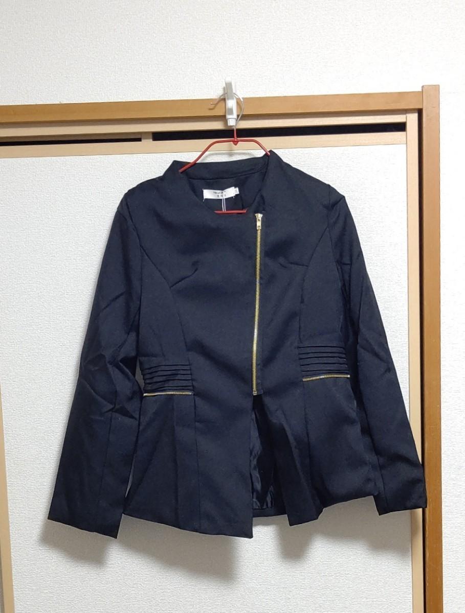 レディース 大きいサイズ テーラードジャケット ジャケット コート アウター