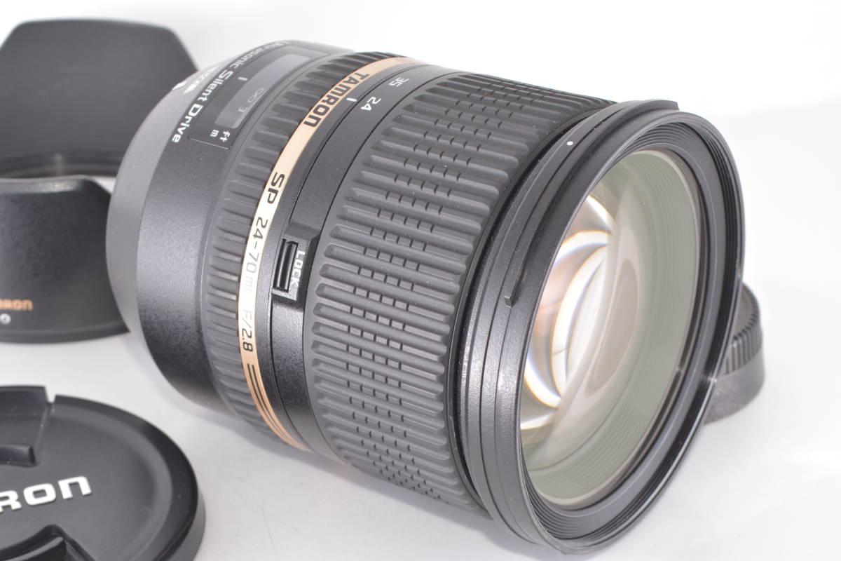 ニコン用 タムロン TAMRON SP 24-70mm F2.8 Di VC USD #h2981_画像3