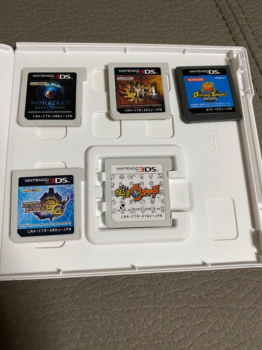 3DS ソフト セット 妖怪ウォッチ モンスターハンター 4 3g