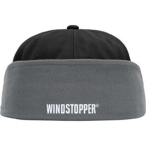 7 5/8 国内購入 本物 Supreme NEW ERA Windstopper Earflap Gore Box Logo XL 20FW ロゴ NewEra ニューエラ 黒 BLACK ゴア_画像2