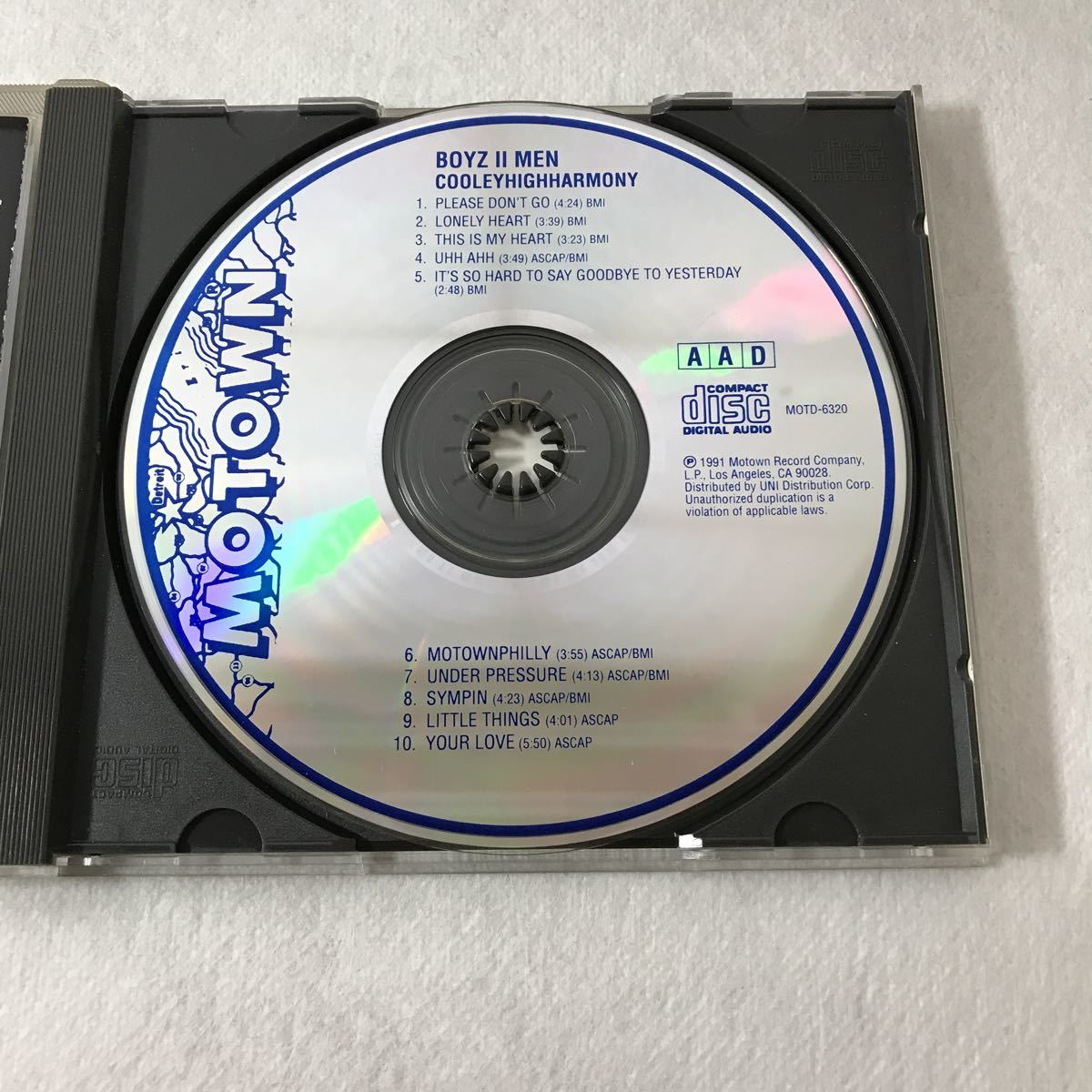 CD Cooleyhighharmony Boys II Men