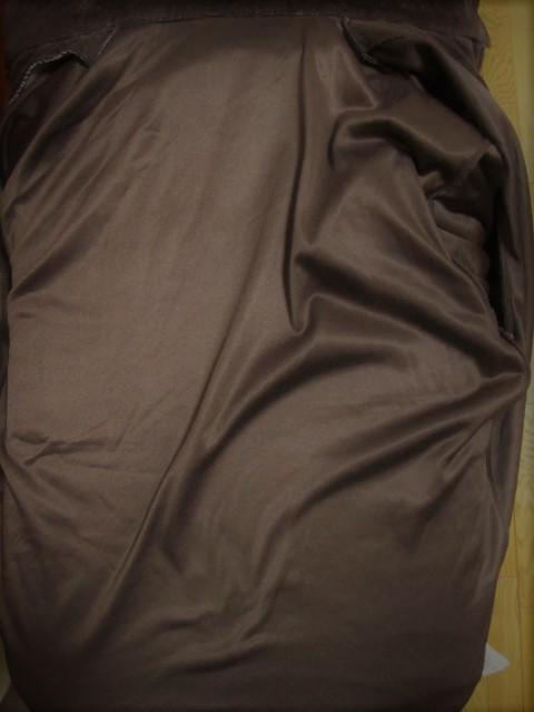 ベルベット風 ジップアップ シャツジャケット F_画像4