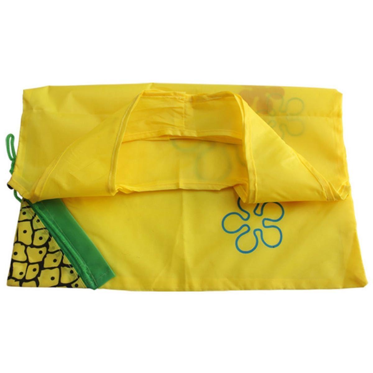 エコバッグ ショッピングバッグ 折りたたみ 洗える 大容量 収納袋 7枚セット