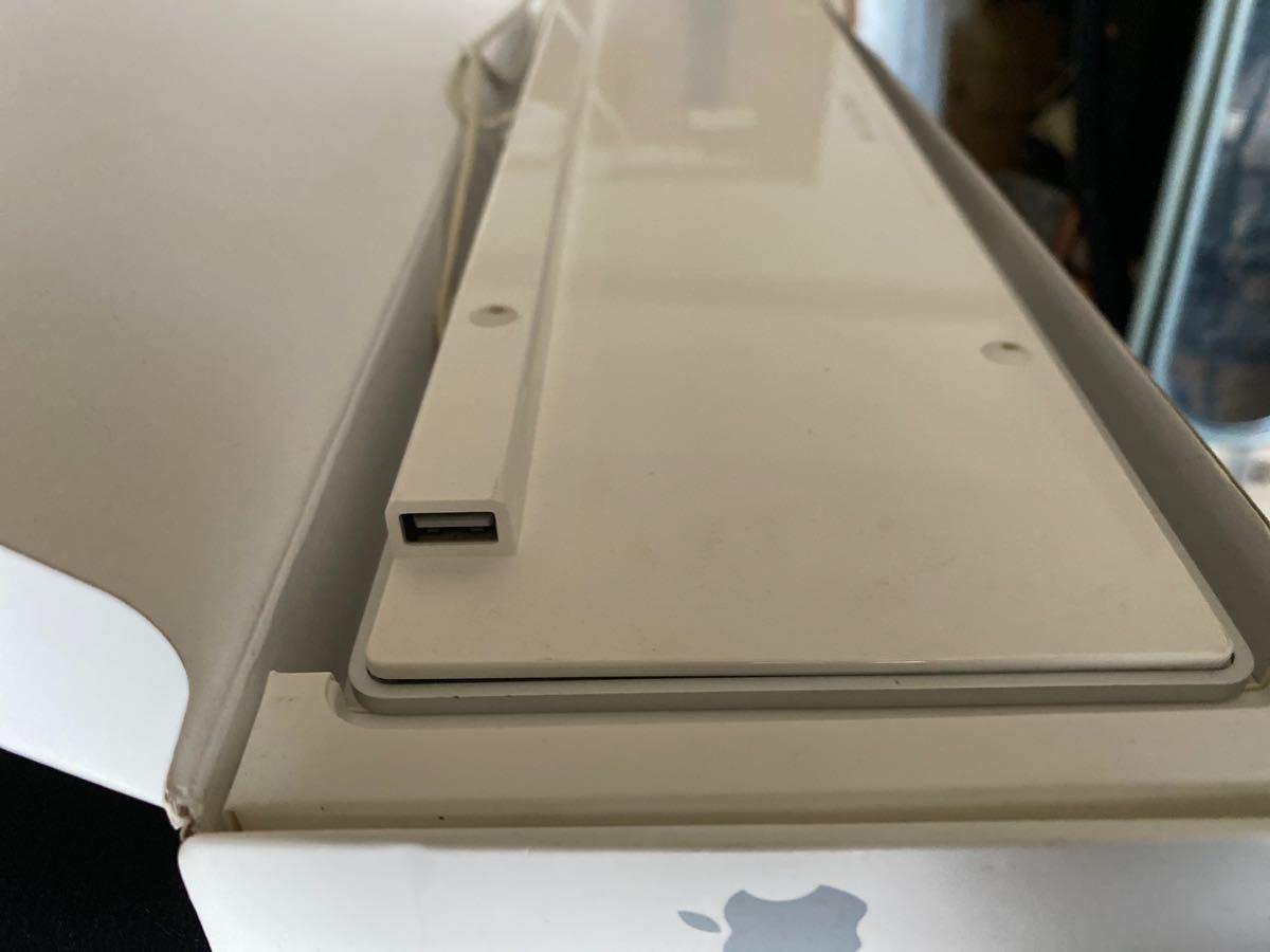 アップル 純正 Apple Keyboard MB110J/B (テンキー付き) USB2箇所