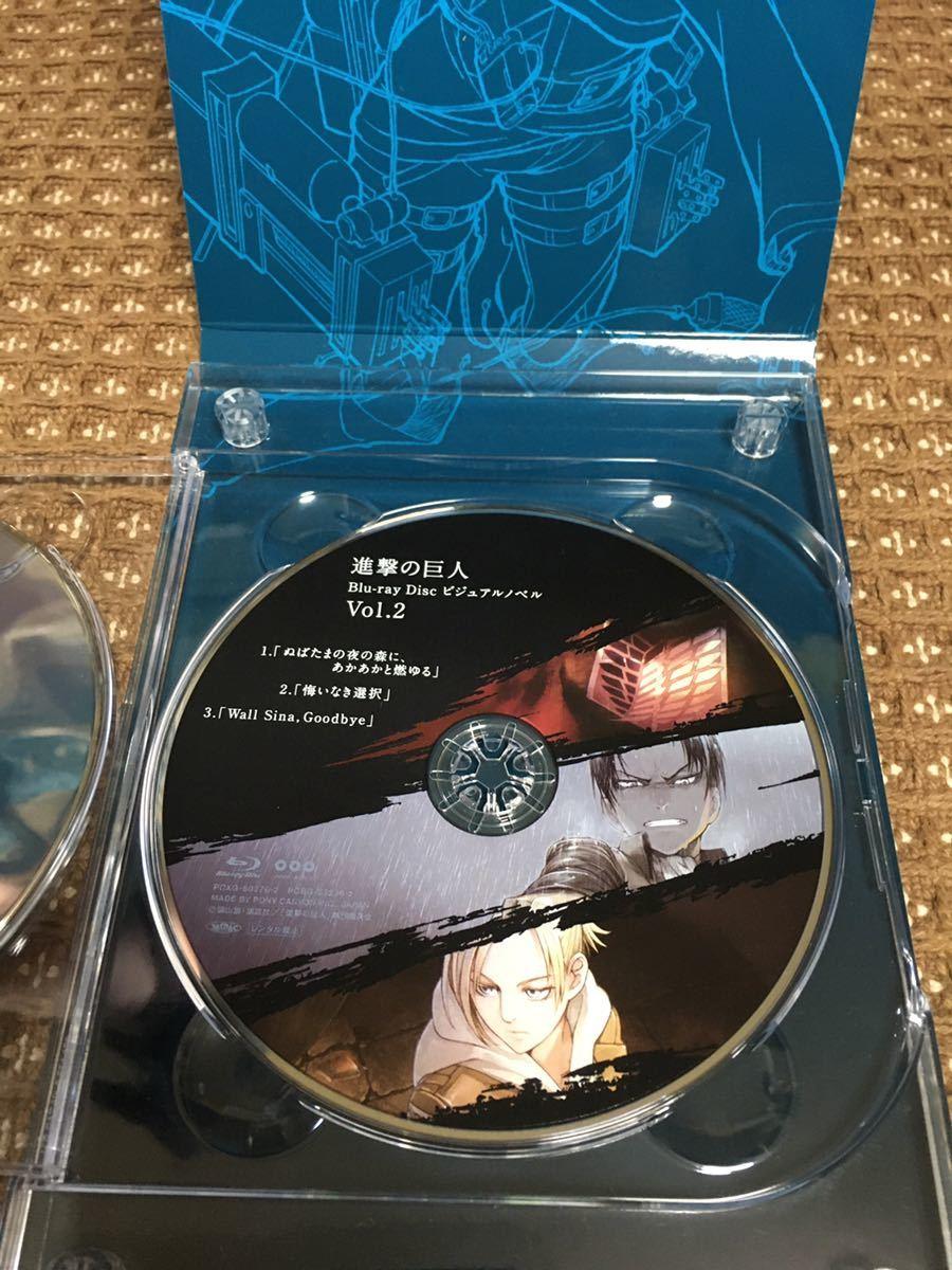 [Blu-ray] 進撃の巨人6 初回限定版 PCXG-50276 ビジュアルノベル vol.2 ブルーレイ 【中古】
