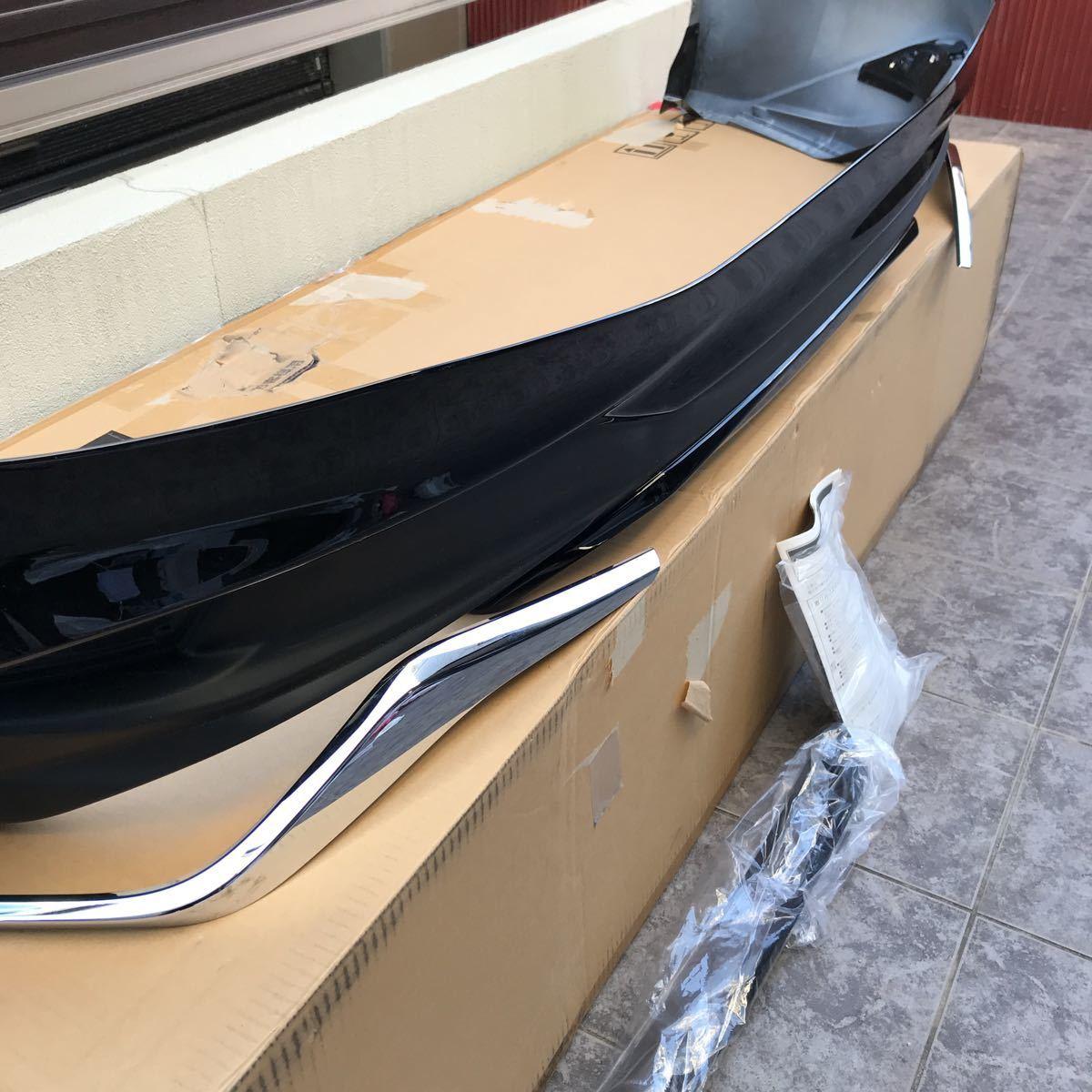 新品未使用品 レクサス RX300 450h AGL20W AGL25W GYL20W GYL25W 後期 黒 ブラック モデリスタ リアバンパースポイラー_画像3