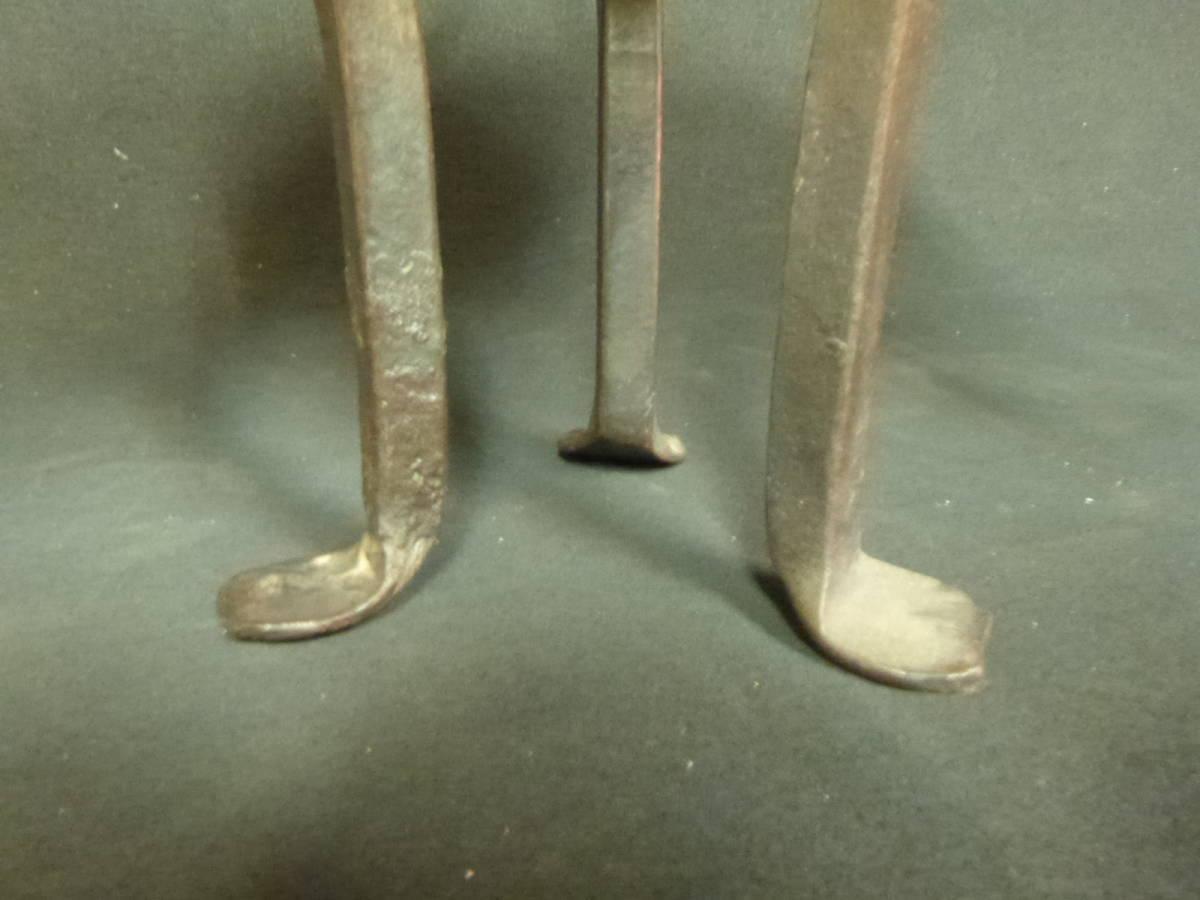 インドの燭台 鉄製_画像4