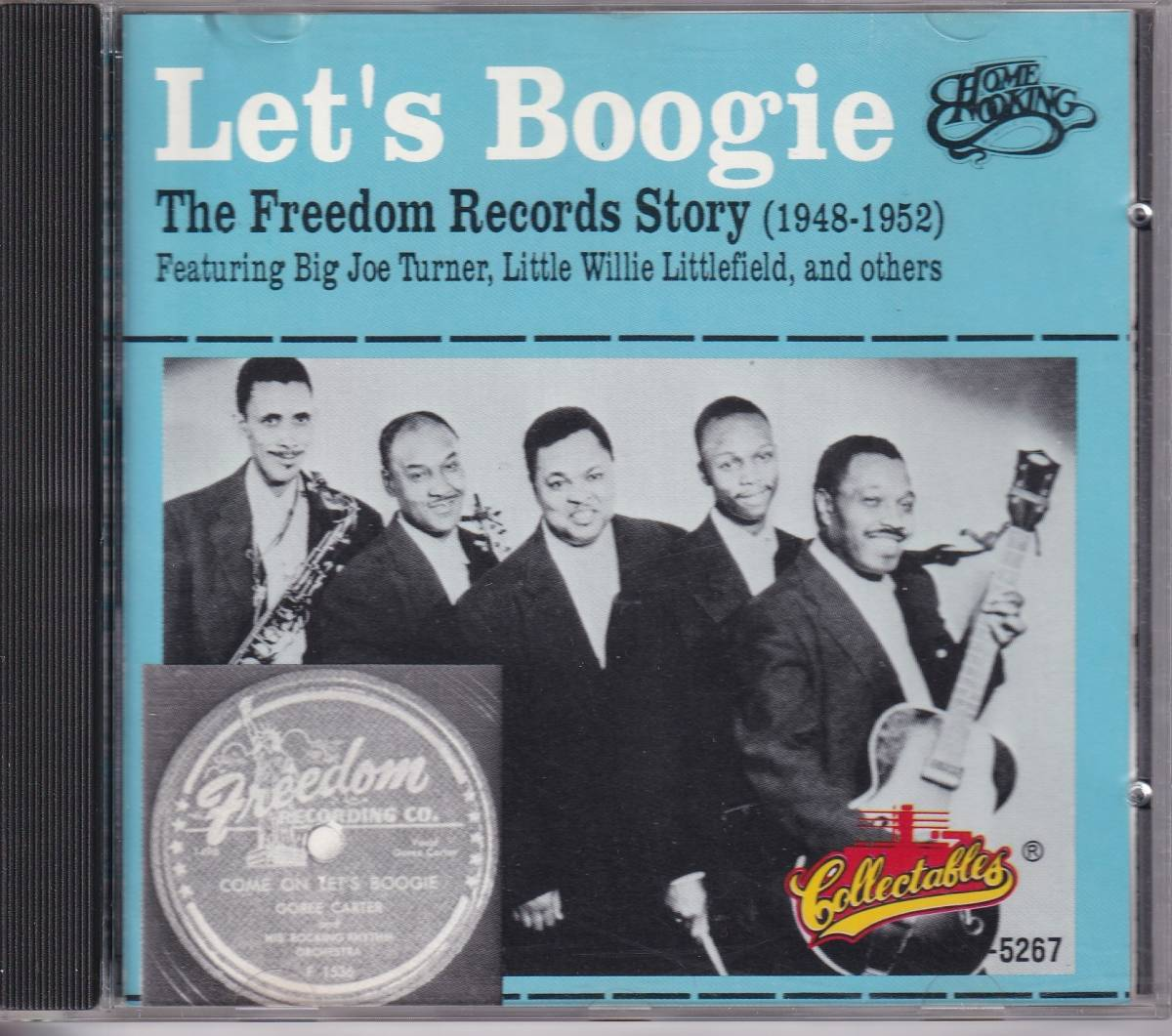 CD(U.S.) Let's Boogie : The Freedom Records Story(1948-1952) (Collectables COL-CD-5267)