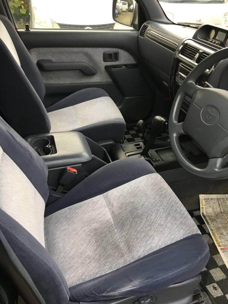 「ランドクルーザー プラド ランクル ディーゼルターボ 4WD 車検令和4年4月 RX 90系 3ドア 1KZ」の画像2