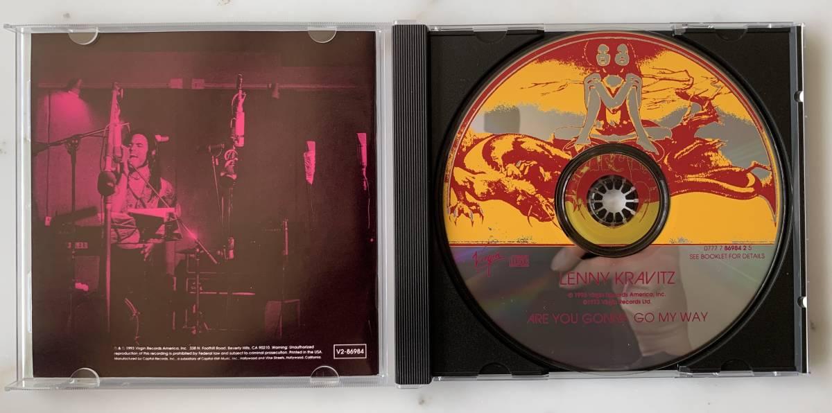 2枚セット/ Lenny Kravitz/ Are You Gonna Go My Way /Mama Said_画像3