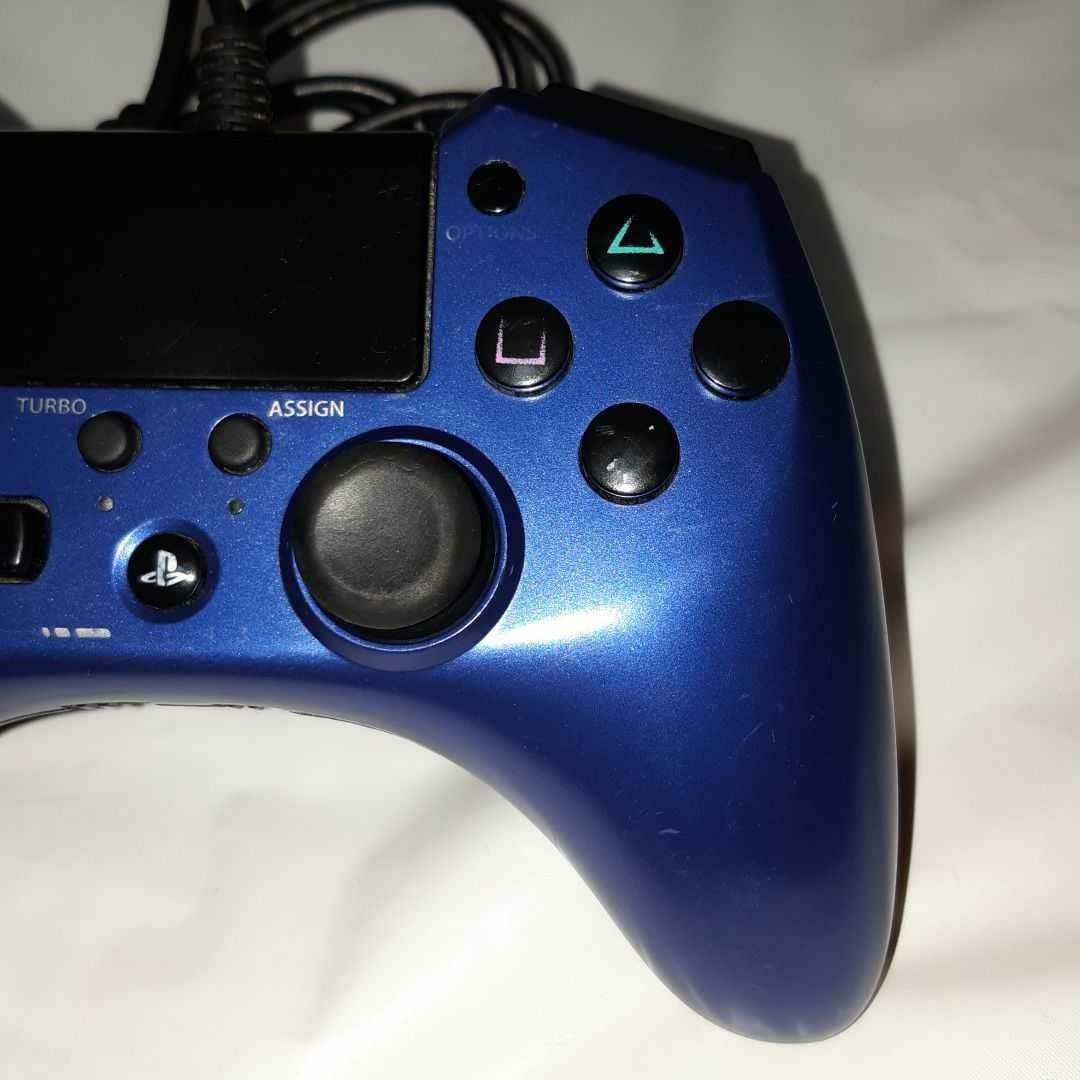 連射機能搭載 ホリパッドFPSプラス FOR PS4 ブルー  SONY