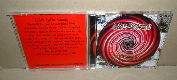 即決 Rockin Psycho Records California Psychobilly 中古CD サイコビリー Thrillbillyz The Daffys パンク ロックンロール ネオロカビリー_画像2