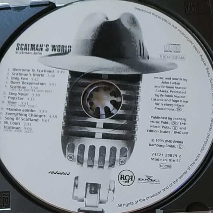 CD SCATMAN S WORLD/SCATMAN JOHN