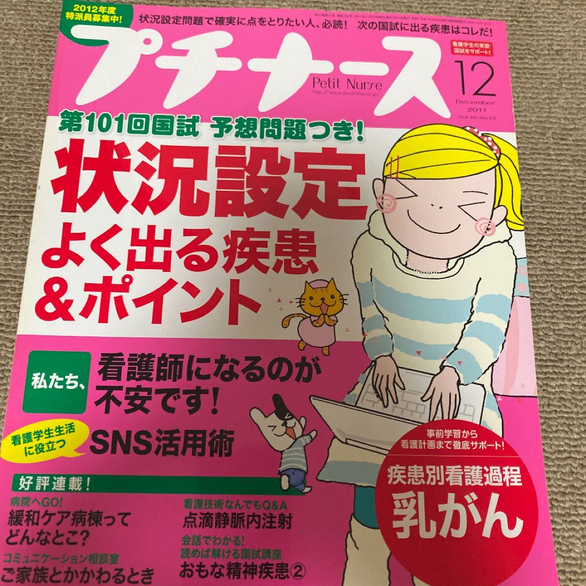 プチナース 2011 December Vol.20 No.15