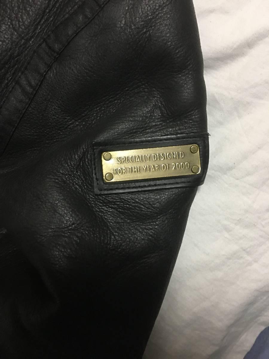 大人気 サントリー ボスジャンS B3 フライト 牛革 ヴィンテージ品 ライダースジャケット 非売品 入手困難 激レア 激安 処分b_ロゴ