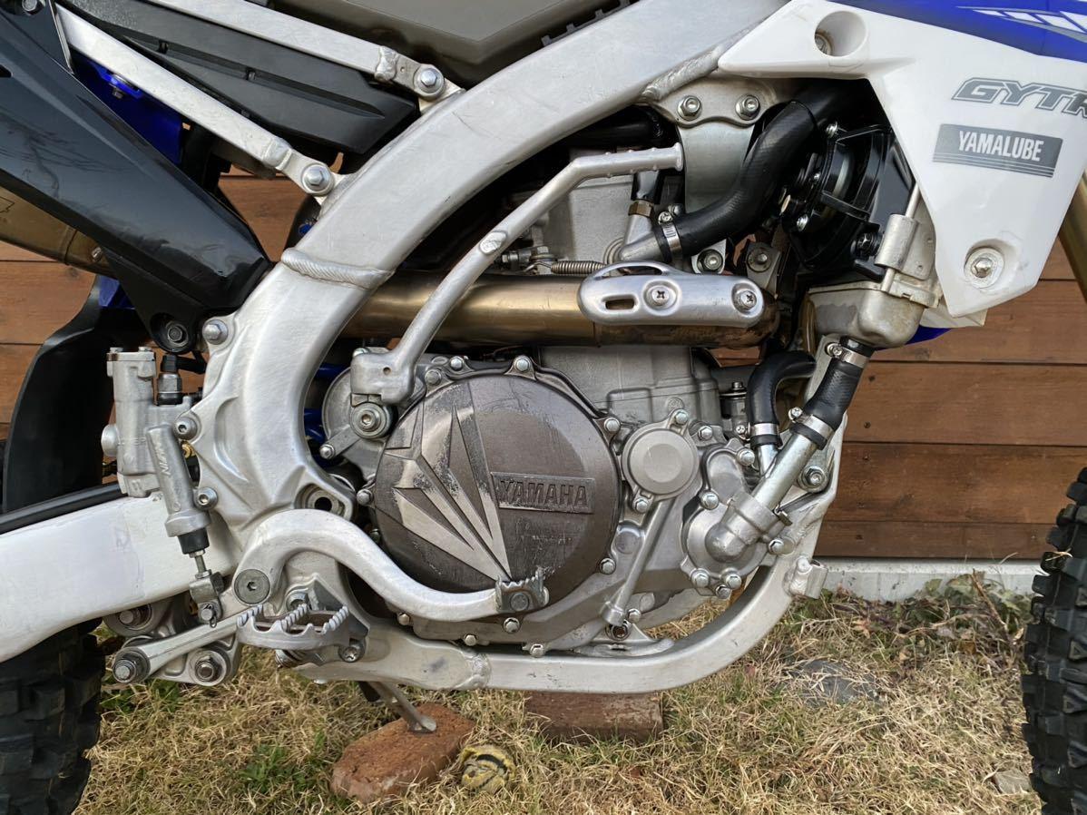 「WR450F 車検2年付き フルパワー仕様 登録済 ナンバー有り WR250F YZ450FX YZ250FX ヤマハ YAMAHA」の画像3