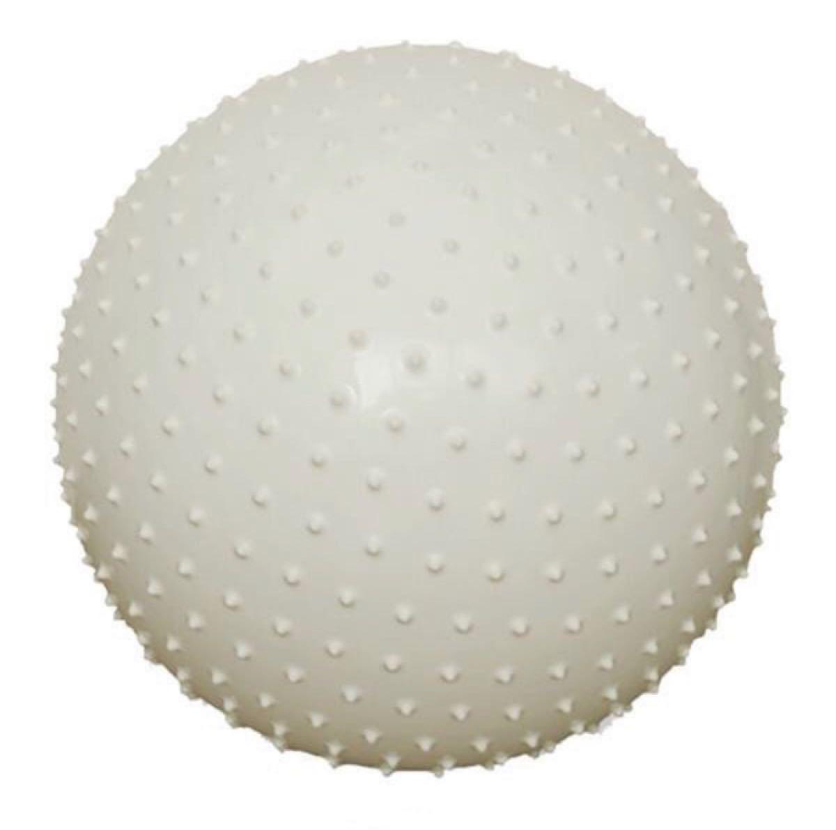 バランスボール 表面突起 マッサージ効果 シルバー
