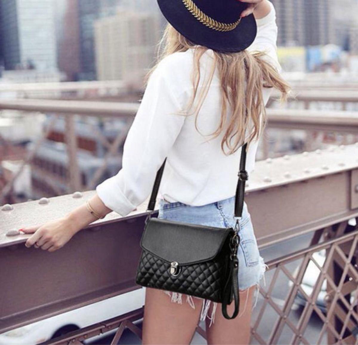 ショルダーバッグ クラッチバッグ ミニバッグ レザー レディース 小物 鞄 ブラック セカンドバッグ
