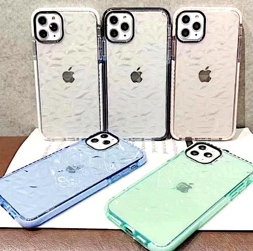 iPhone12 / 12Pro ホワイト iPhoneケース iPhoneカバー シンプル クリア_他のカラーも掲載しております
