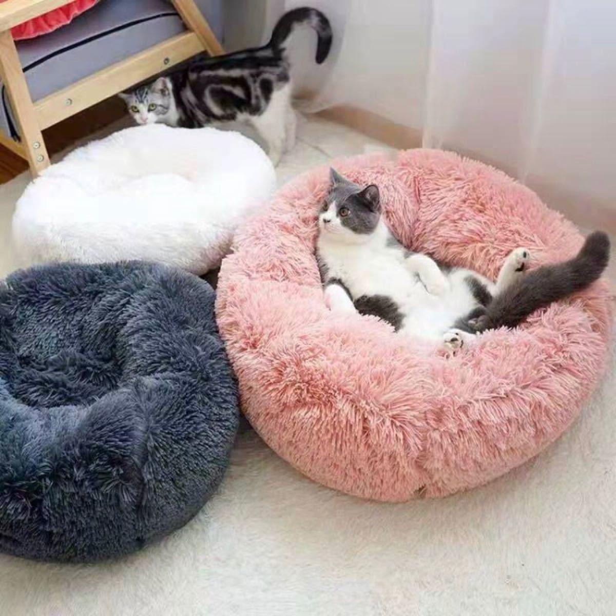 新品 犬 猫 ペット用 ふわふわクッション ペットベッド