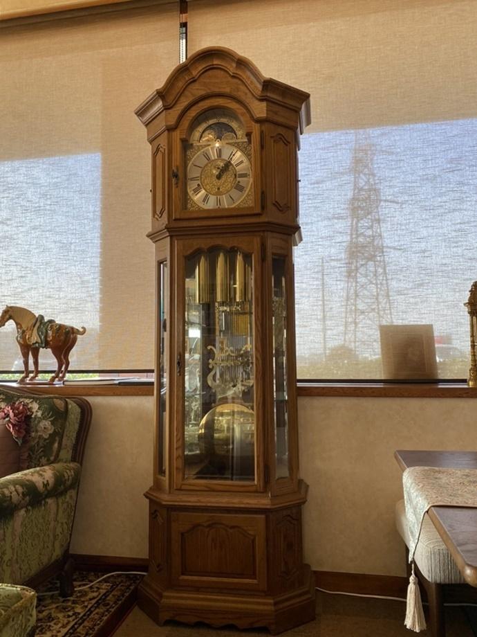 FranzHermle ヘルムレ ホールクロック 大型置時計 ドイツ製 柱時計 フォールクロック_画像1