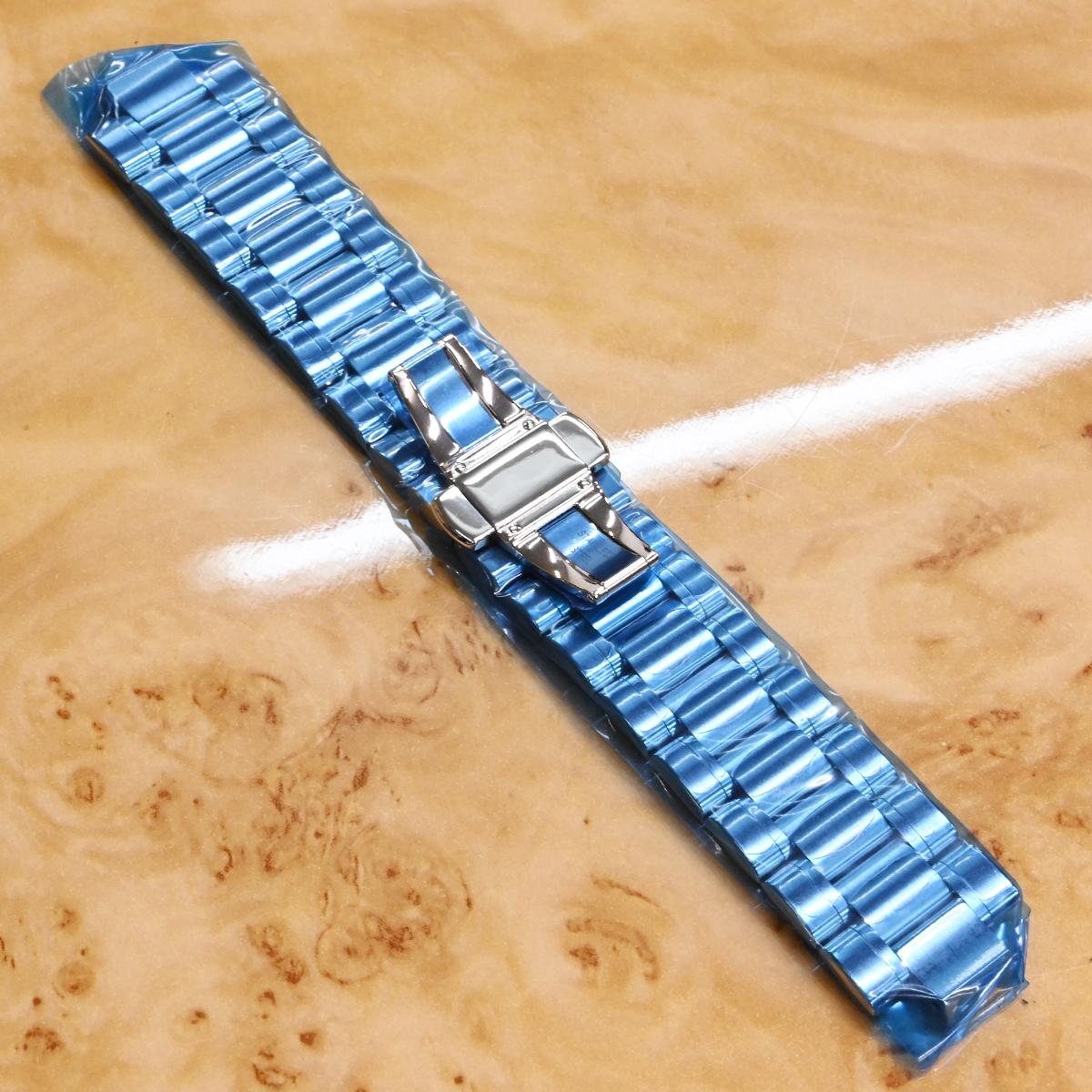 本物 新品 ショーメ 極希少 クラスワン ダイバー 純正ステンレスブレスレット SSブレス 腕時計 ウォッチベルト メタルブレス CHAUMET_画像2