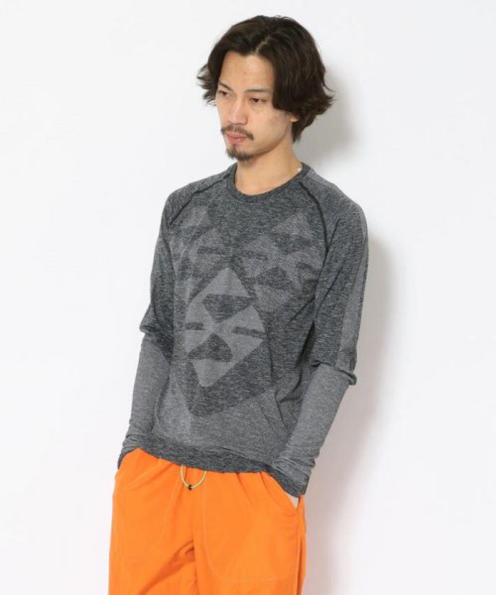 シームレスリングロングシャツ【asics】