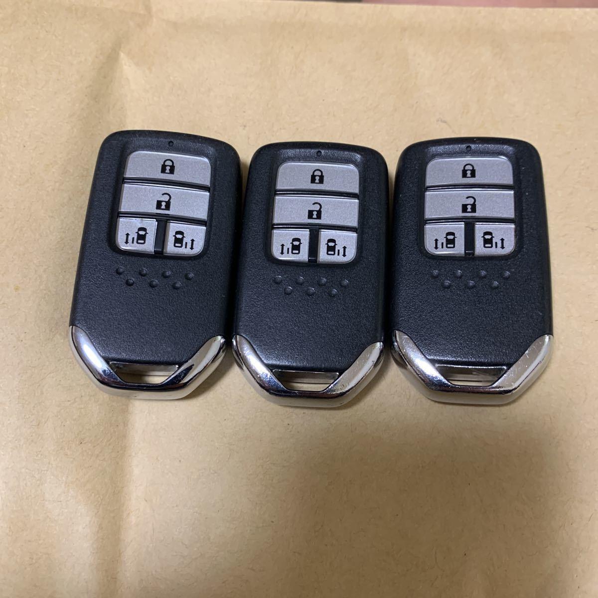 送料無料☆☆ホンダ ステップワゴン オデッセイ フリード スマートキー TAA-J11 両側パワースライドドア 3個セット 35_画像2