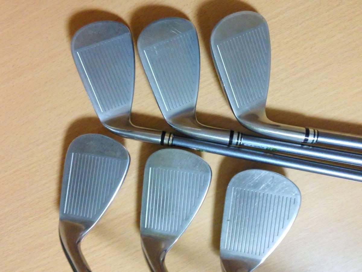 ダンロップ DUNLOP ゼクシオ XXIO ゼクシオセブン XXIO7 5~P 6本セット MP700 S レッド仕様 カラーカスタム 2012年モデル_画像2
