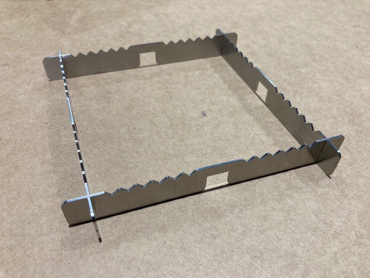 ★五徳安定板★ST-310専用 コンパクト ステンレス レギュレーターストーブ