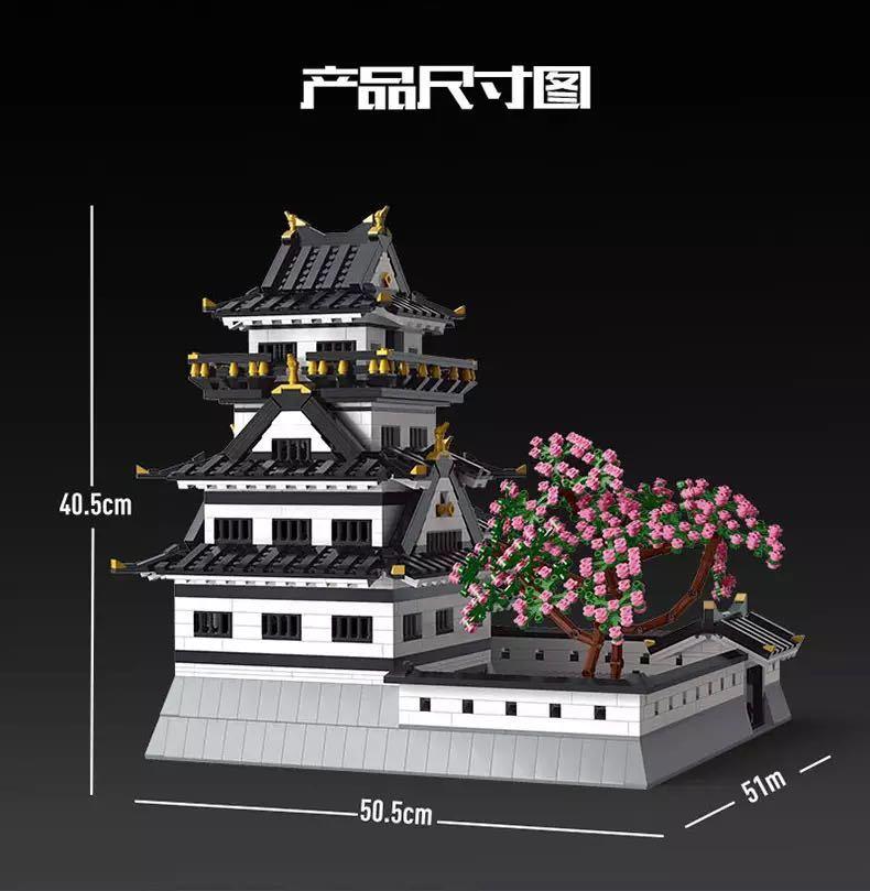LEGO互換 姫路城_画像4