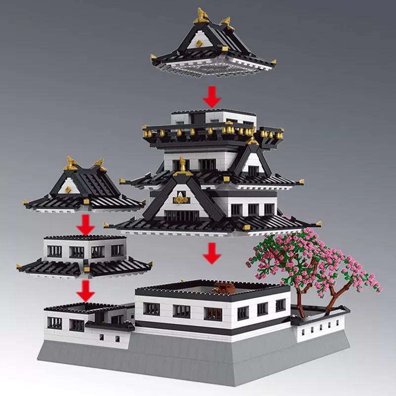 LEGO互換 姫路城_画像2