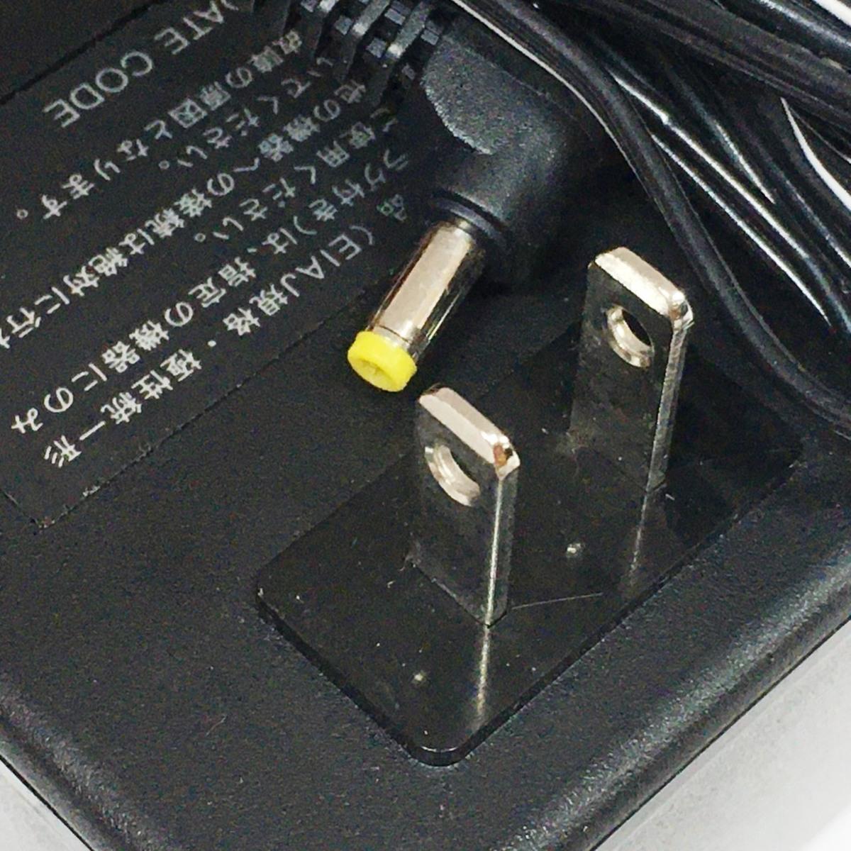 ■カシオ 液晶TV専用 ACアダプター AD-K600J DC6V 750mA /中古品 CASIO τ■_画像4