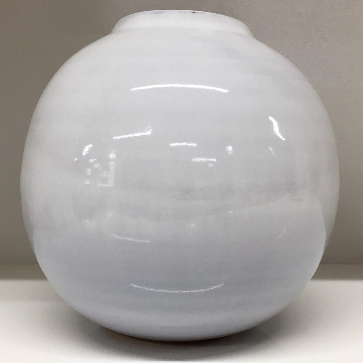 ■萩焼 天鵬 花瓶 高さ約19cm /中古品 フラワーベース 花入 インテリア ⇔■_画像3