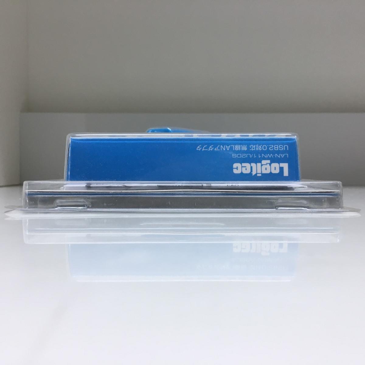 ■ジャンク ロジテック USB無線LANアダプタ LAN-WN11/U2DS /未使用長期保管 Logitec Д■_画像3