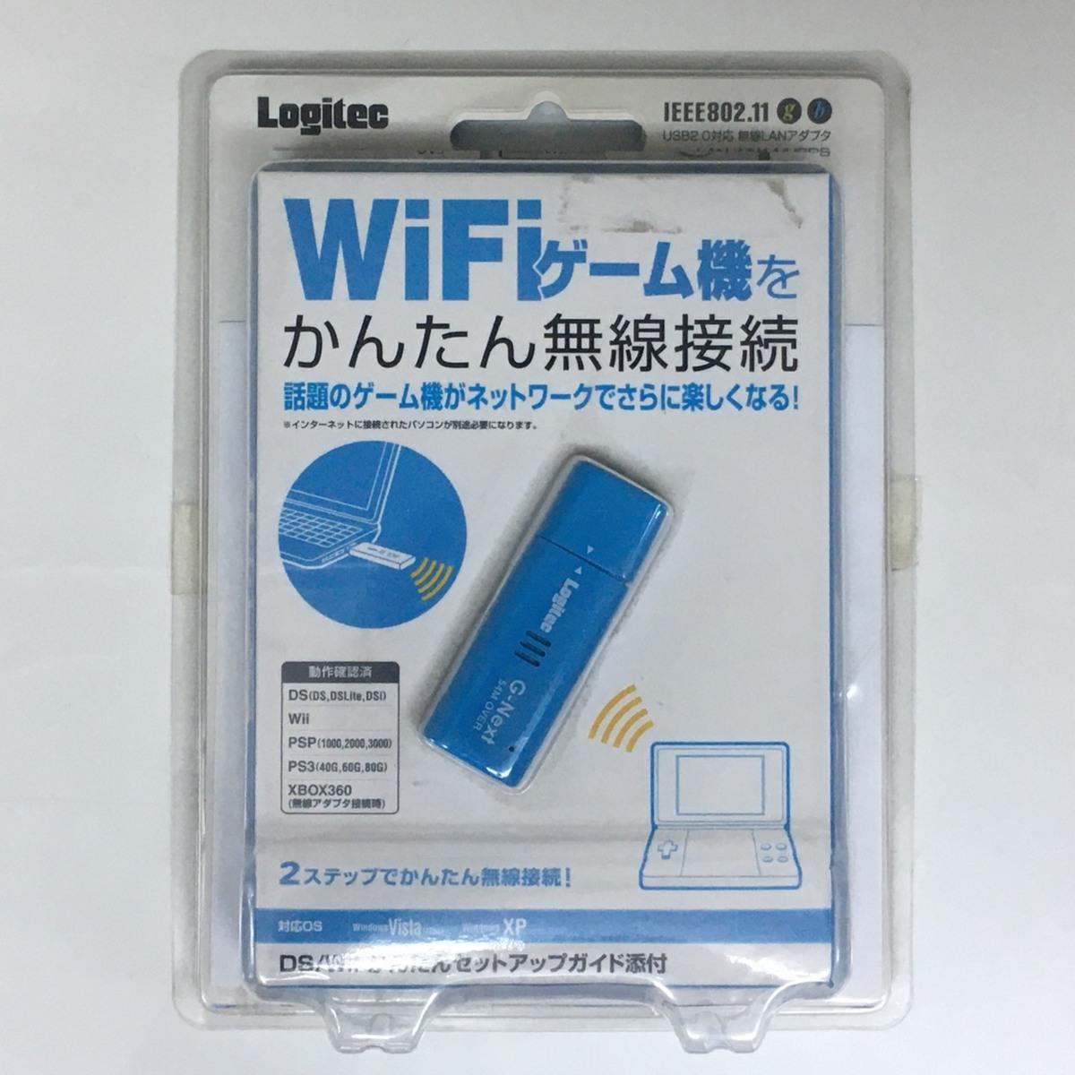 ■ジャンク ロジテック USB無線LANアダプタ LAN-WN11/U2DS /未使用長期保管 Logitec Д■_画像1
