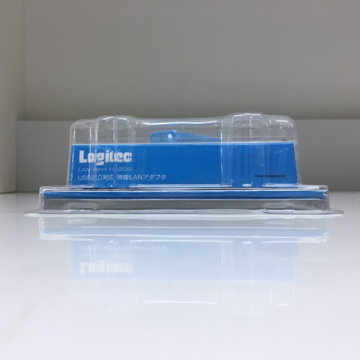 ■ジャンク ロジテック USB無線LANアダプタ LAN-WN11/U2DS /未使用長期保管 Logitec Д■_画像5