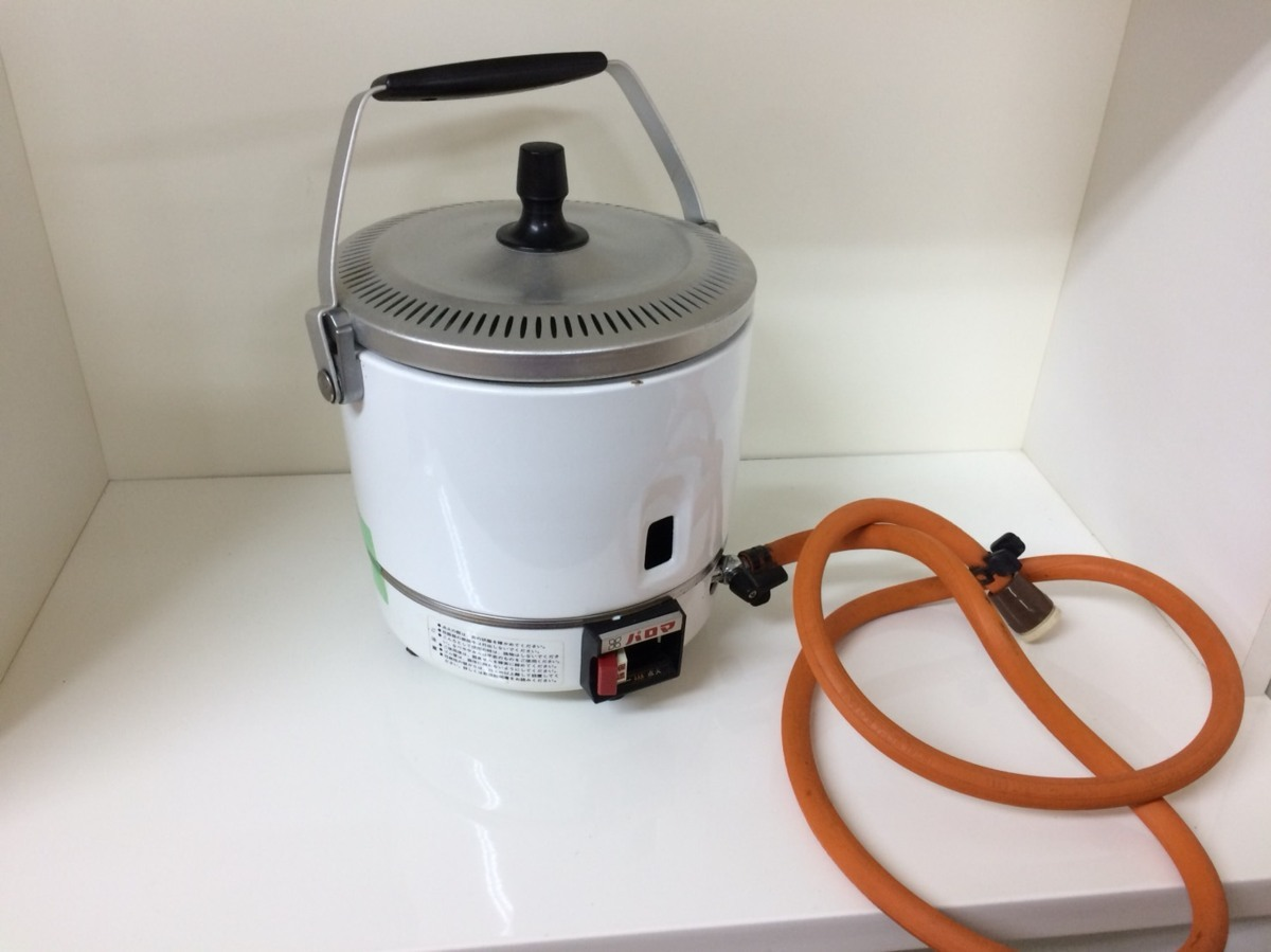 □ジャンク パロマ ガス炊飯器(都市ガス用) PR-1号K 製造年踏不明 Э□_画像1