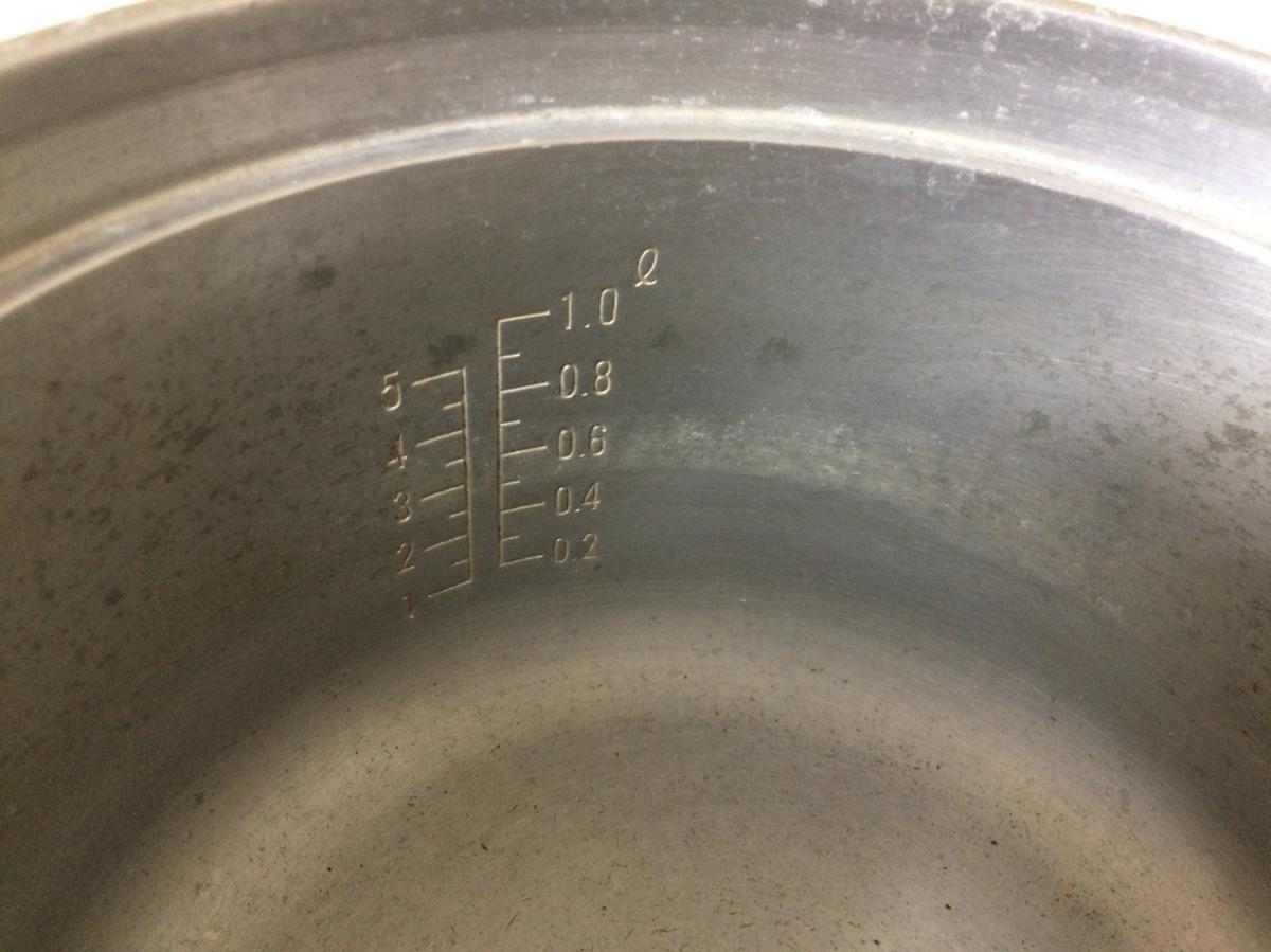 □ジャンク パロマ ガス炊飯器(都市ガス用) PR-1号K 製造年踏不明 Э□_画像6
